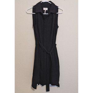 Laundry By Shelli Segal - Black Button-Down Dress